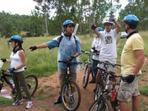 men in bikes