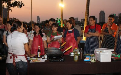 Cooking team building – a great team communication activity