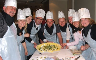Cooking Team Building… a great team reward!