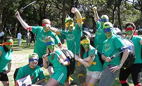 group on ninja turtle costume