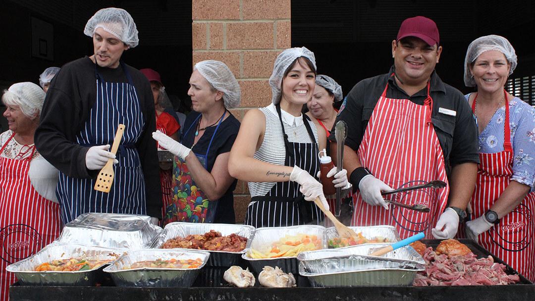 community kitchen activity