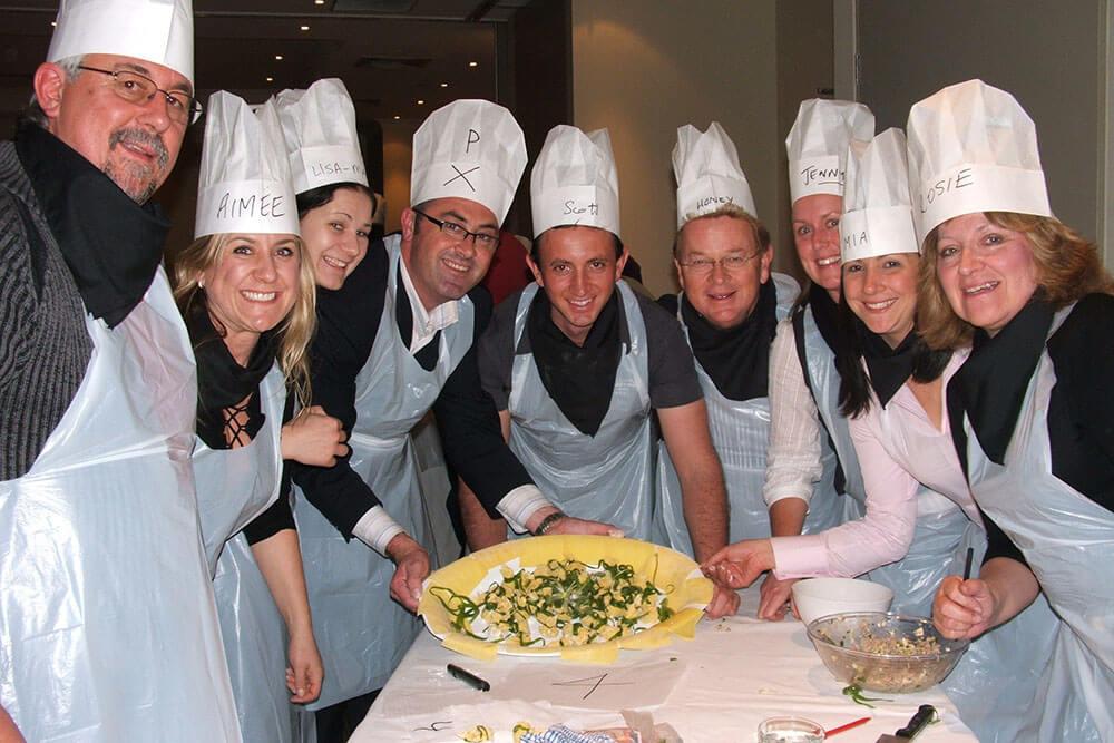 Corporate Cooking Challenges Make Top Team Building Activities