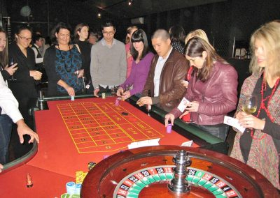 casino networking activity