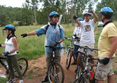 bike off road team building