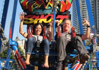 amusement-park extreme ride